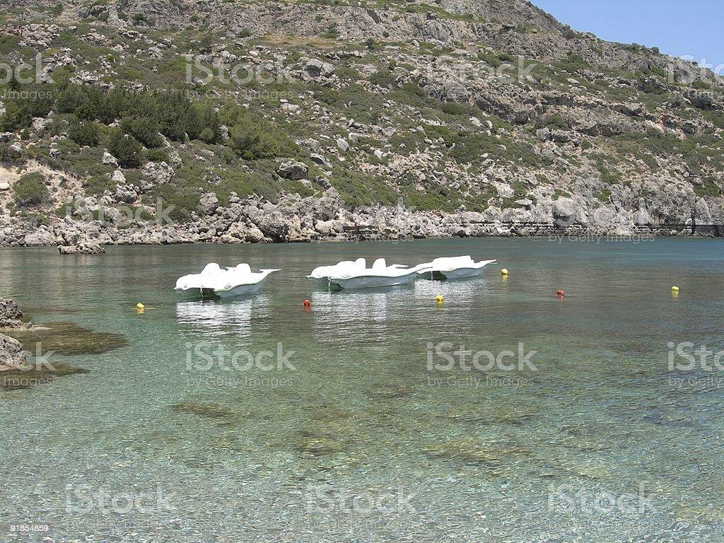 Paddle Boat 02 stock photo