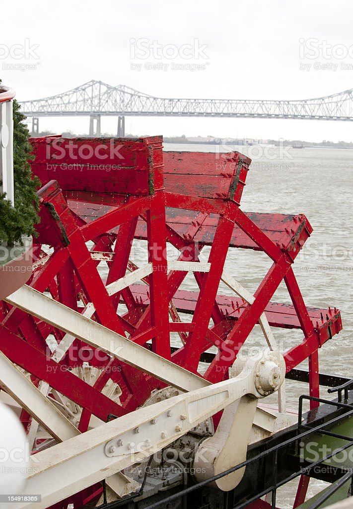 Paddle Boat in New Orleans royalty-free stock photo