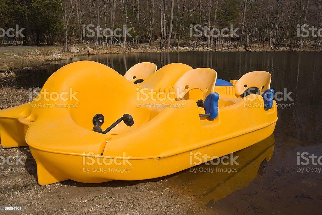 Paddle Boat royalty-free stock photo