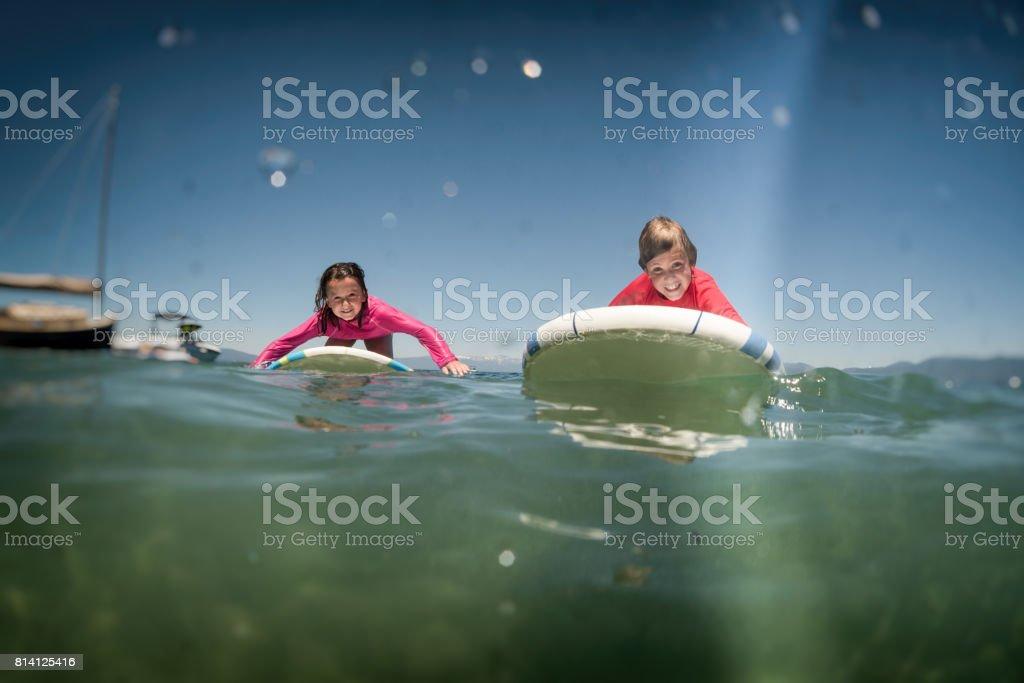 paddle buddies stock photo