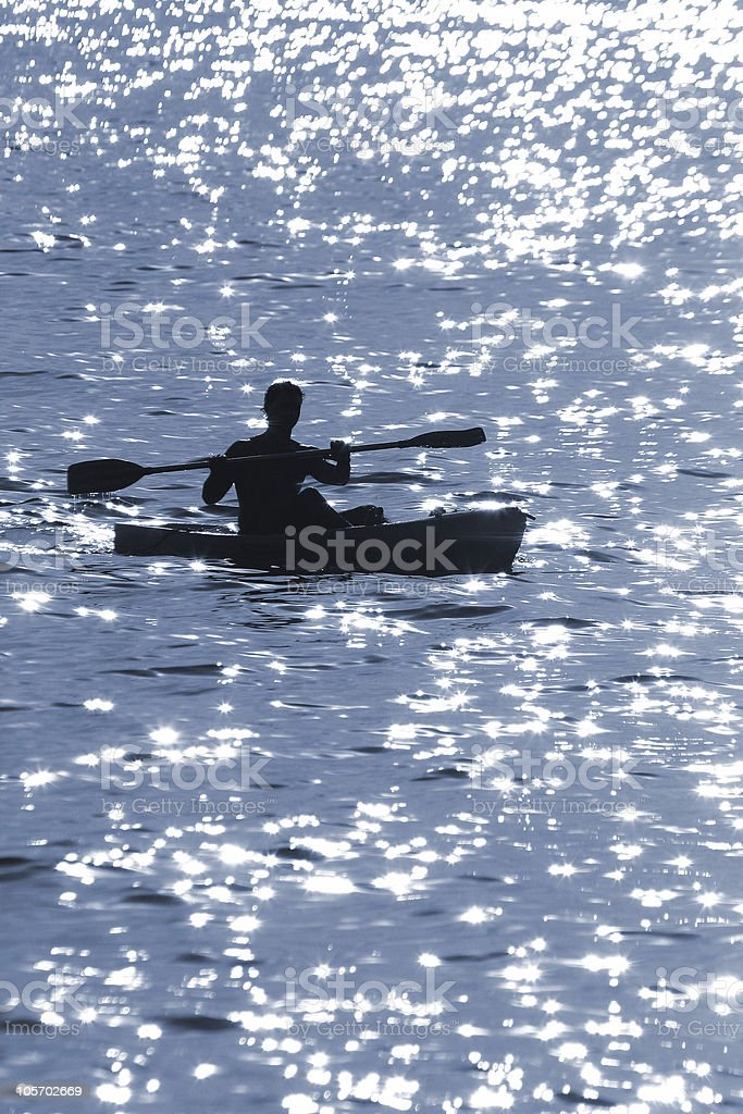 paddle (Feb2005) royalty-free stock photo