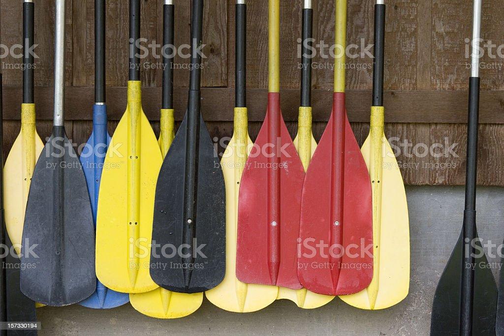 Paddle Rack stock photo