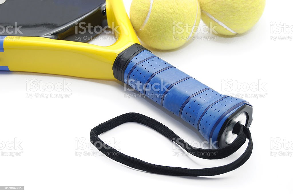 paddle racket royalty-free stock photo