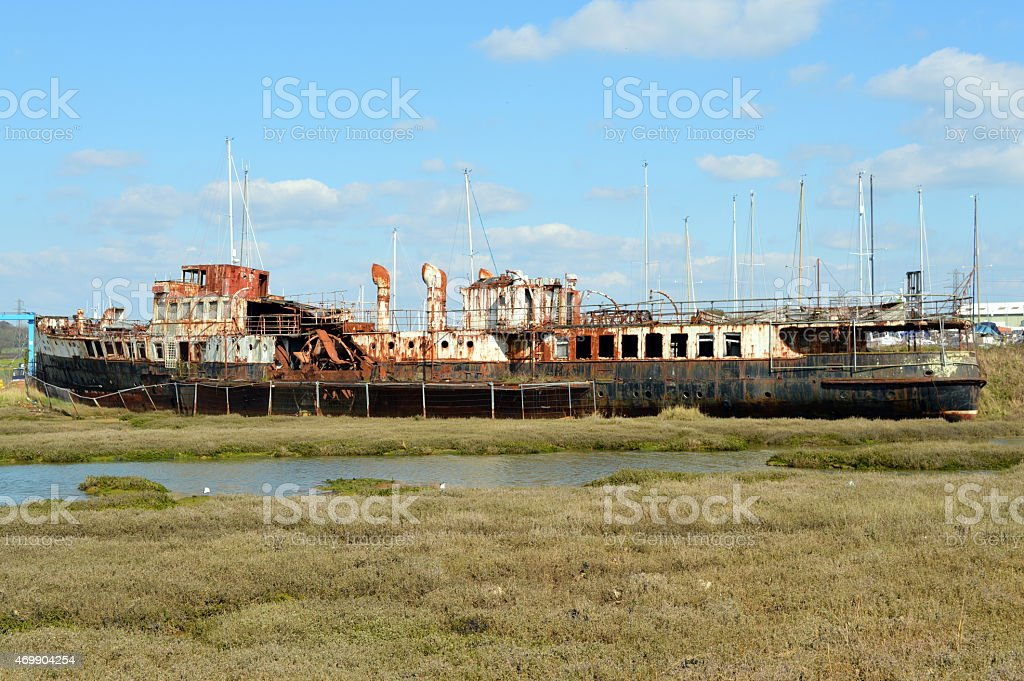 Paddle Steamer Ryde stock photo