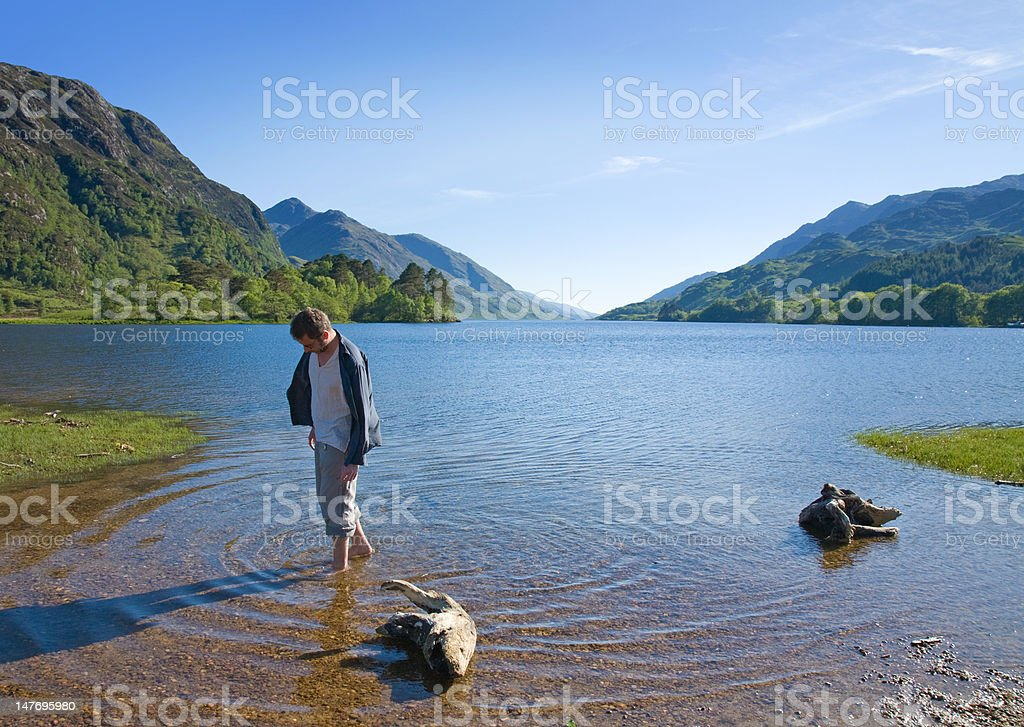 paddling royalty-free stock photo