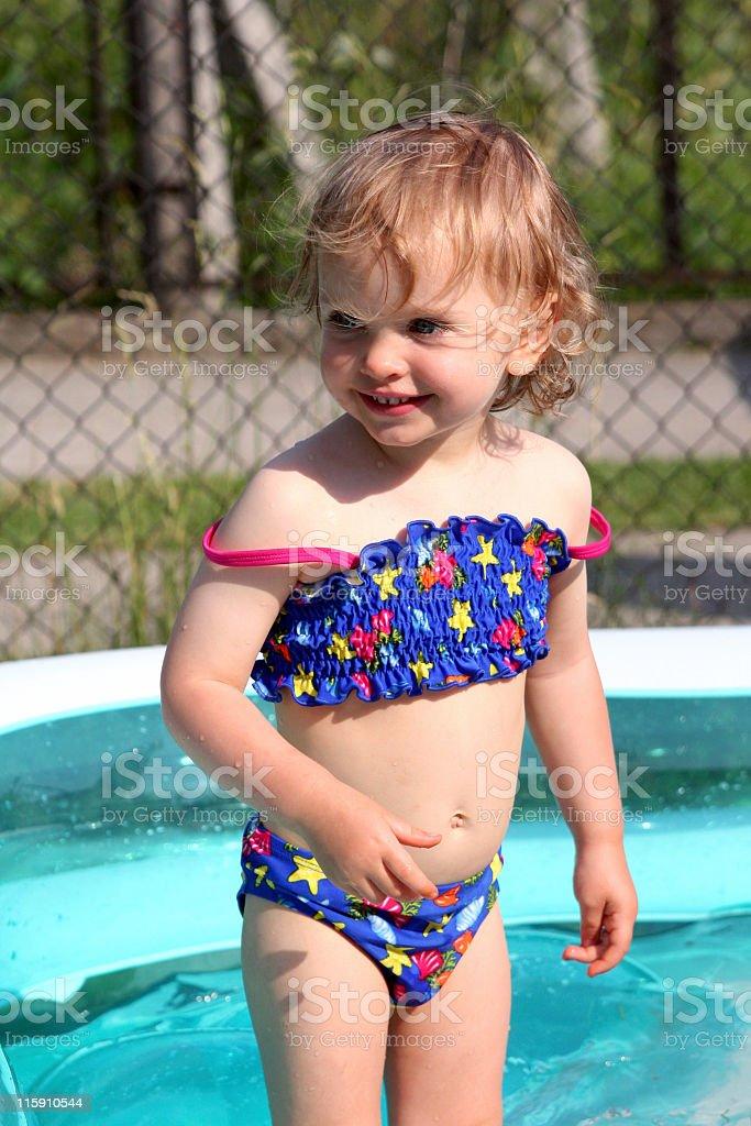 Paddling pool royalty-free stock photo