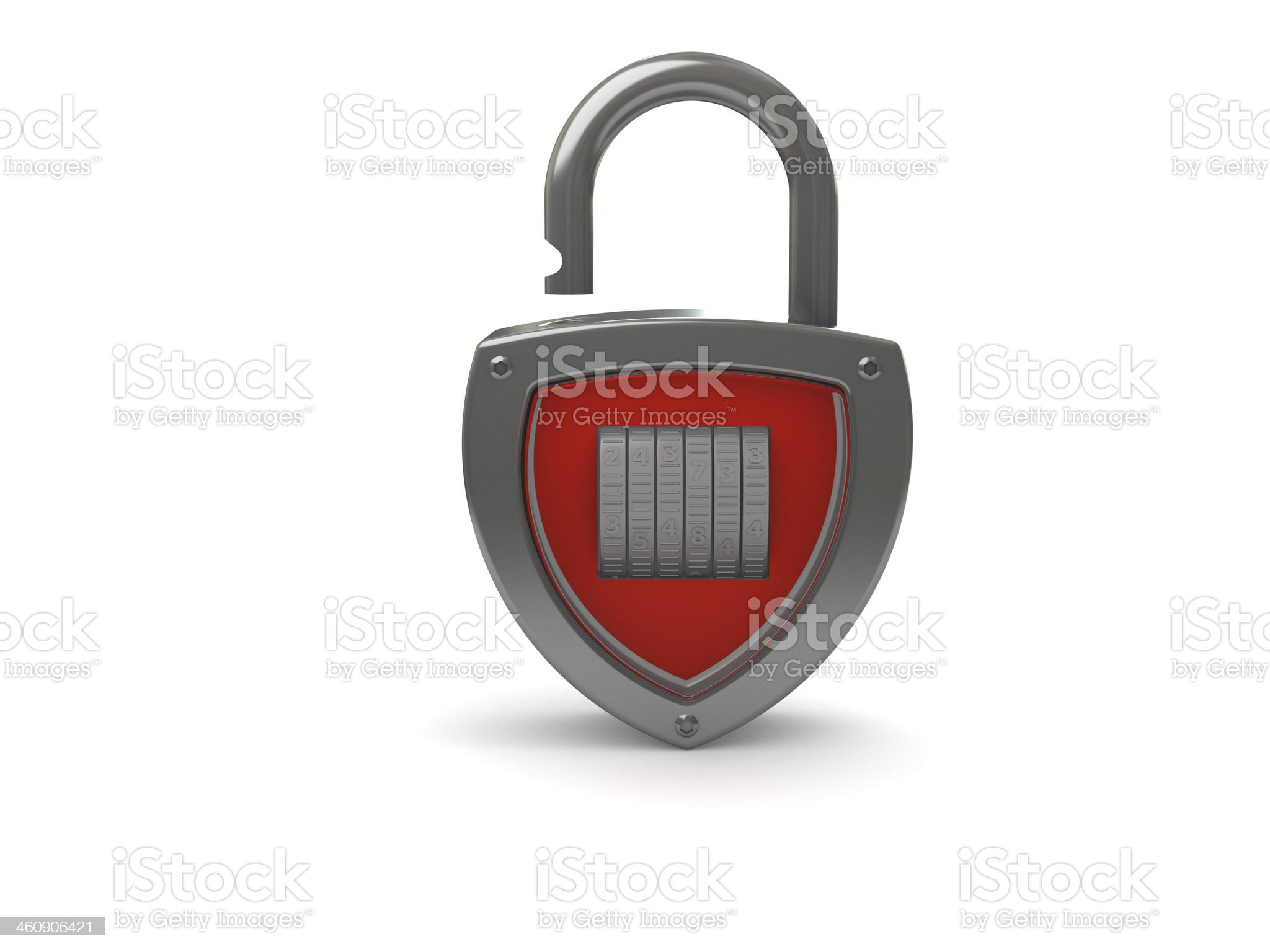 Padlock concept royalty-free stock photo