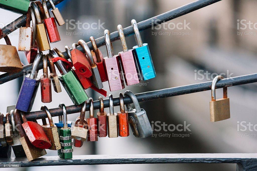 padlock, creative abstract design background photo stock photo