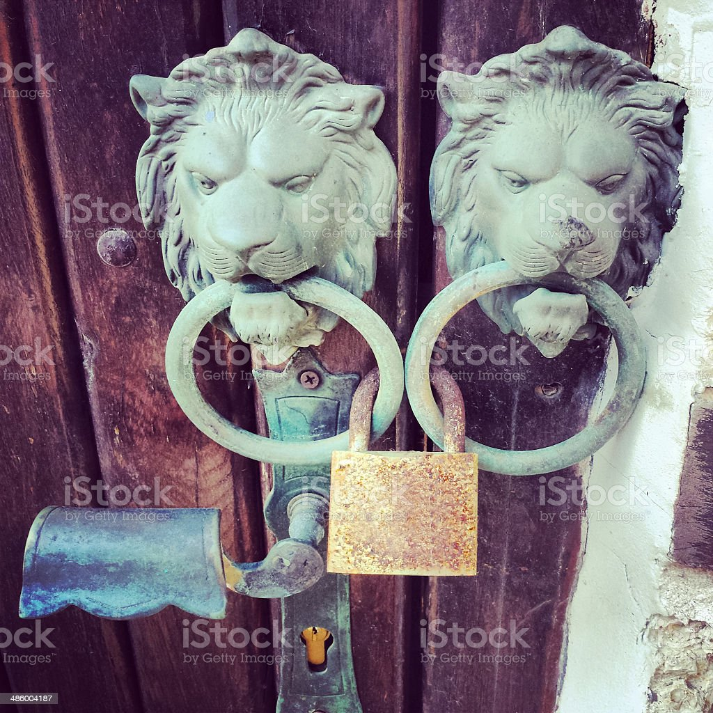 Padlock royalty-free stock photo