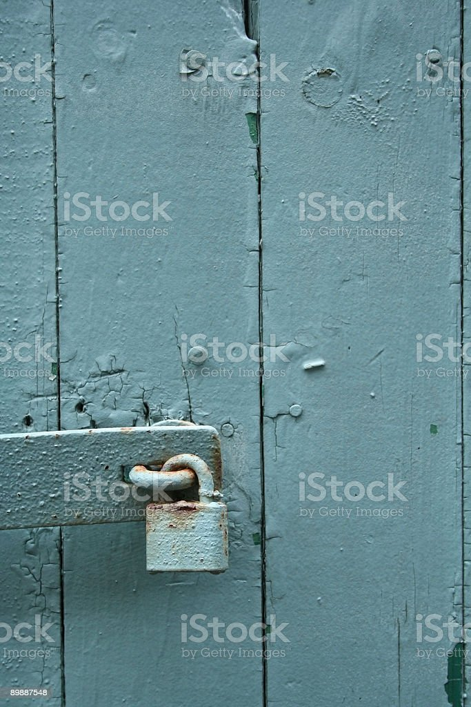 ... Padlocked Door stock photo ... & Keep Out Sign Door Pictures Images and Stock Photos - iStock Pezcame.Com