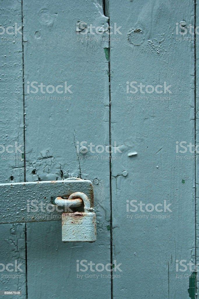 & Padlocked Door stock photo 89887548 | iStock Pezcame.Com