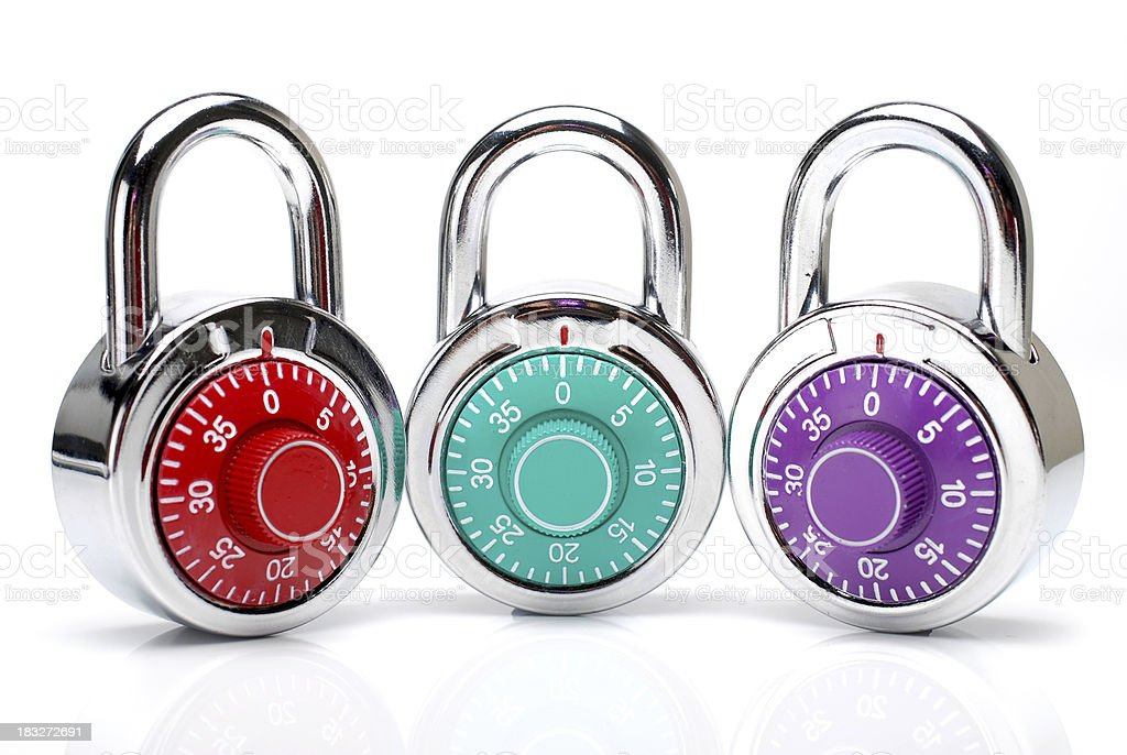 padlocks royalty-free stock photo