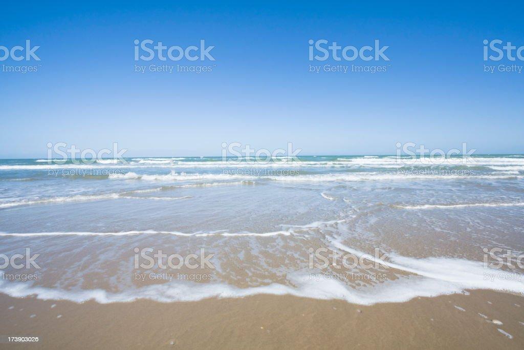 Padre Island National Seashore royalty-free stock photo