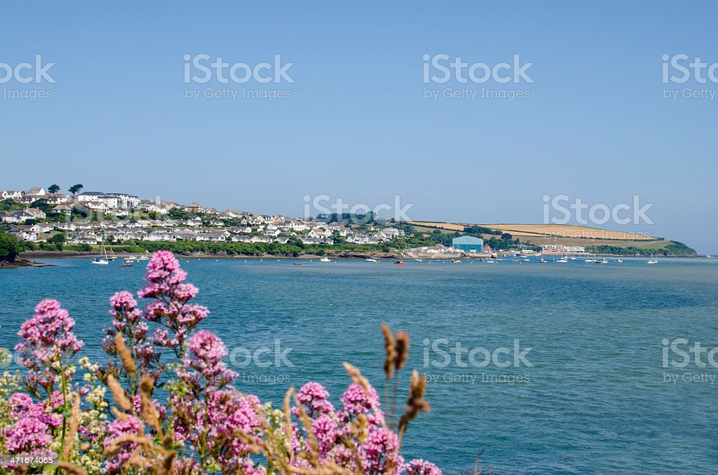 Padstow in Cornwall royalty-free stock photo