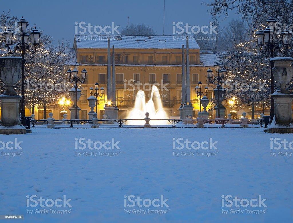 Padua: Prato della Valle square royalty-free stock photo