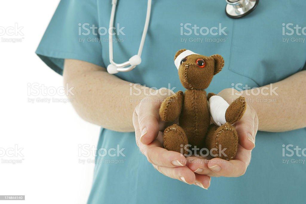 Paediatric Nursing royalty-free stock photo