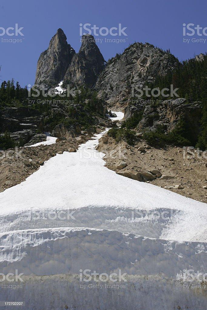 paek and glacier royalty-free stock photo