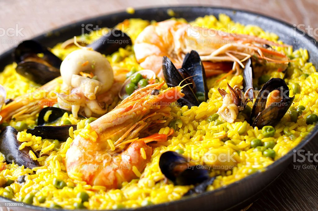 Paella. royalty-free stock photo