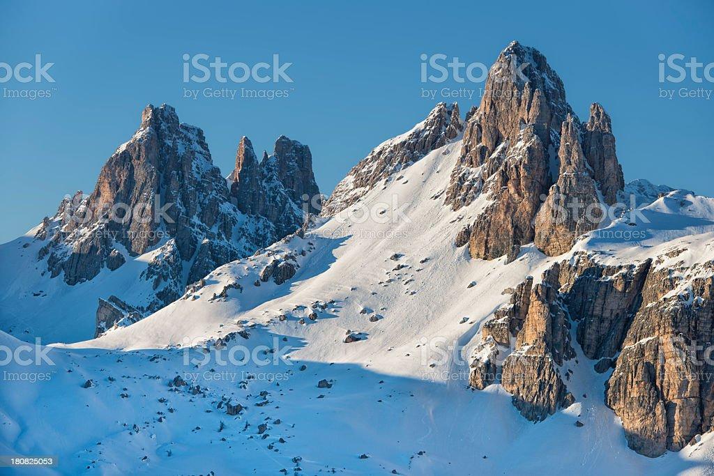 Paesaggio invernale royalty-free stock photo