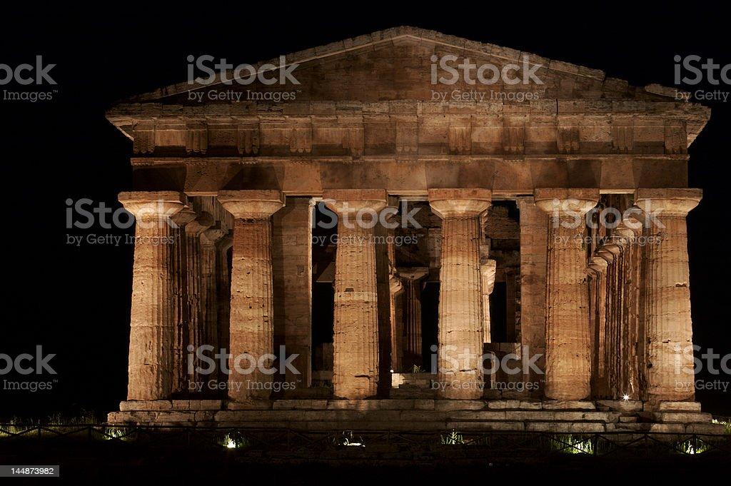 Paestum, Italy stock photo