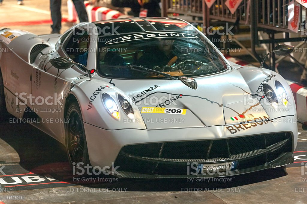 Pagani Zonda 1000 miglia Special Edition royalty-free stock photo