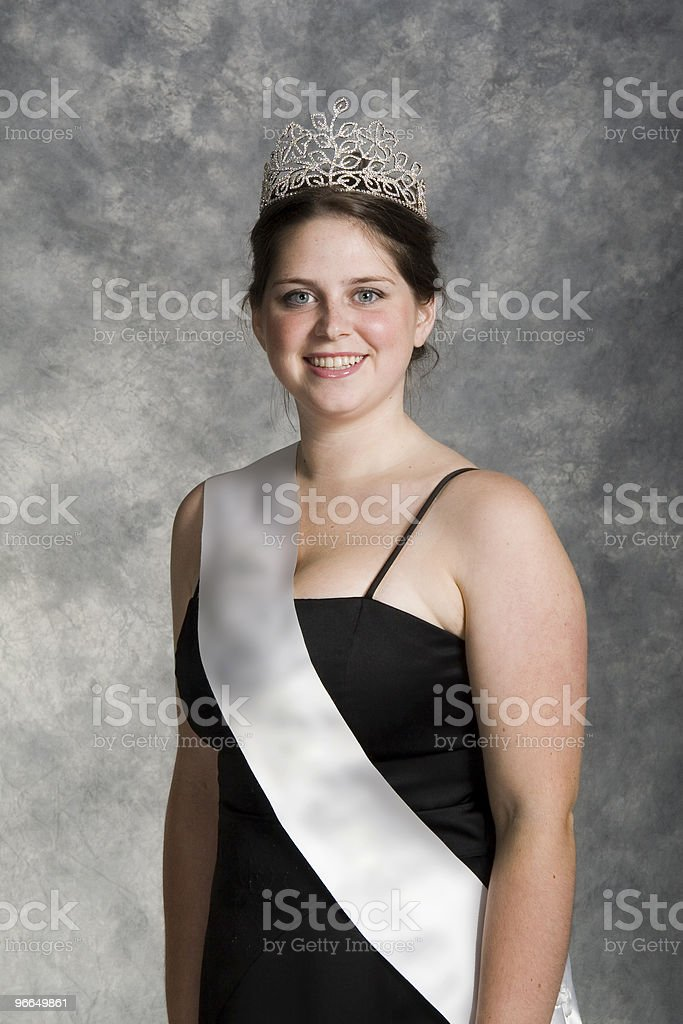 pageant winner stock photo