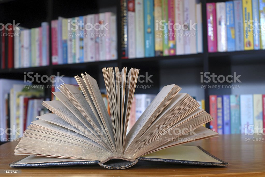 Pages of a book. royalty-free stock photo