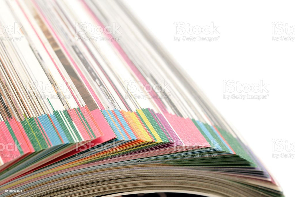pages of catalogue royalty-free stock photo