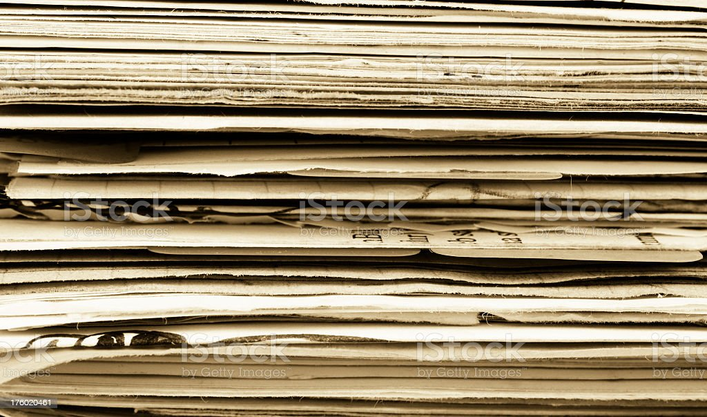 Pages royalty-free stock photo