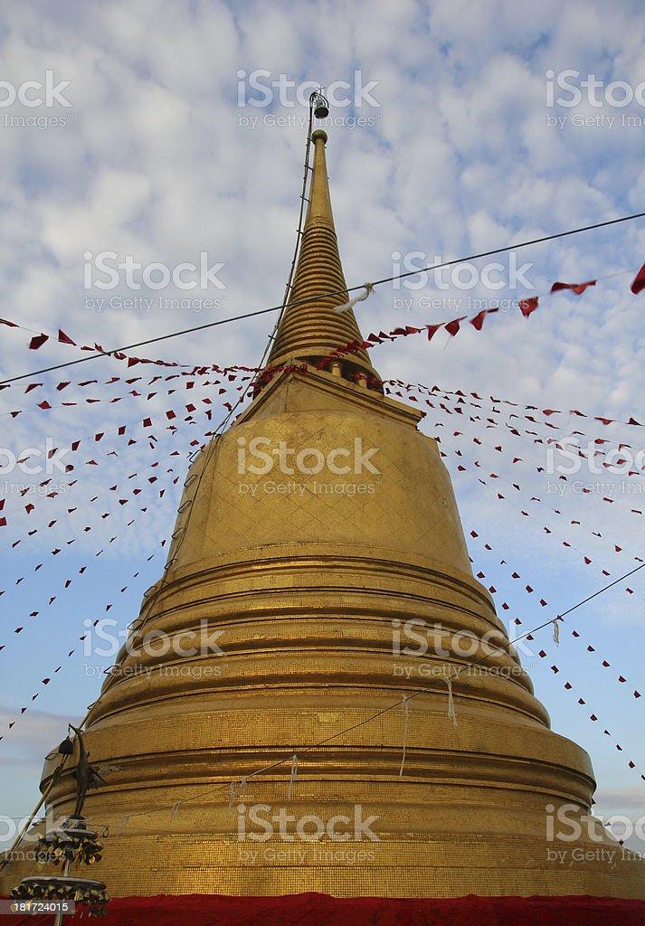 Pagoda Budista stock photo