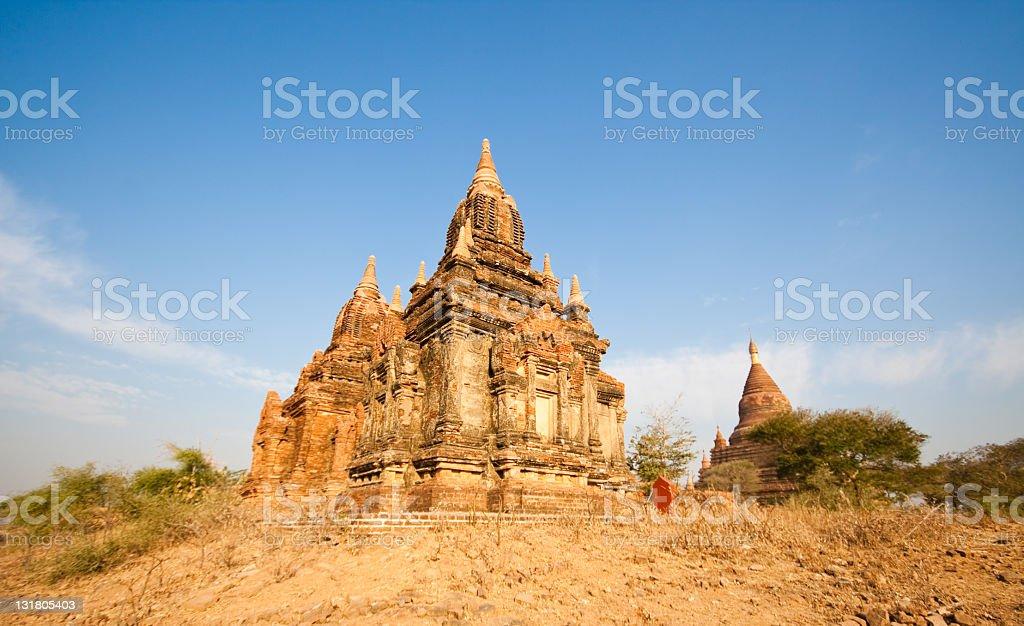 Pagoda in Bagan, Myanmar royalty-free stock photo