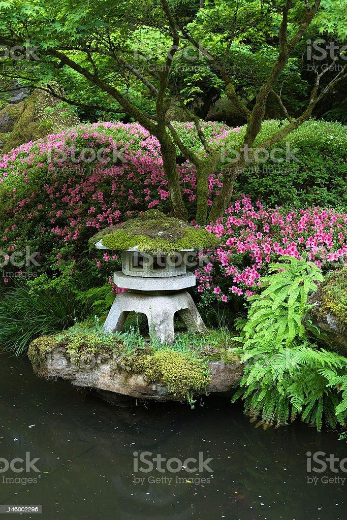 ... Pagoda In Japanese Garden Stock Photo ...