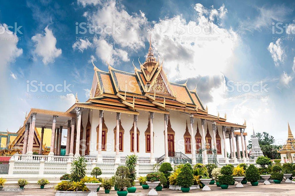 Pagoda In Phnom Penh stock photo