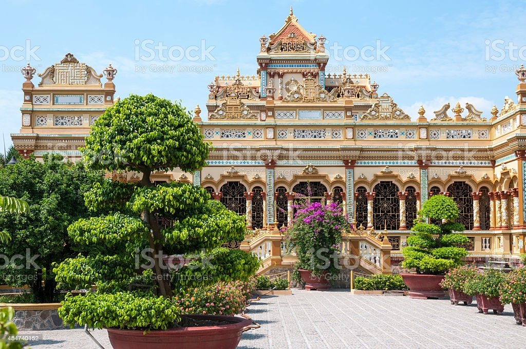 Pagoda In Vietnam stock photo