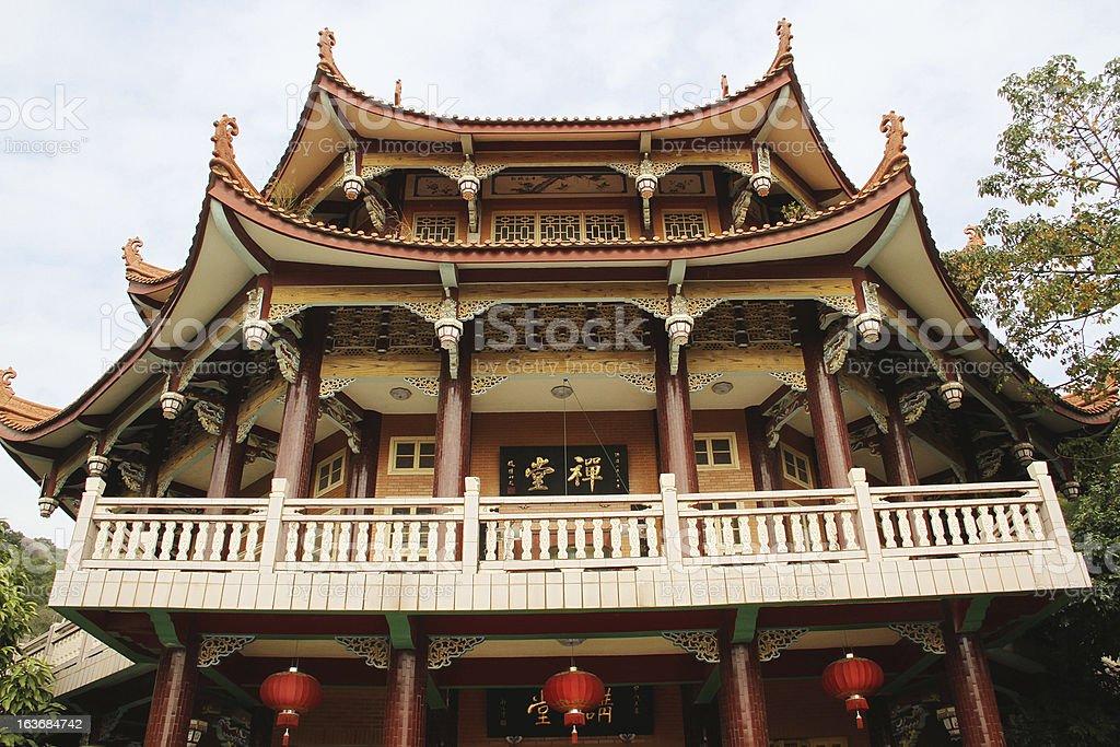 Pagoda Nanputuo Temple, Xiamen stock photo