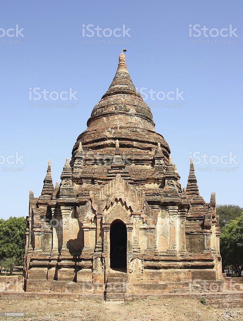Pagoda of Bagan royalty-free stock photo
