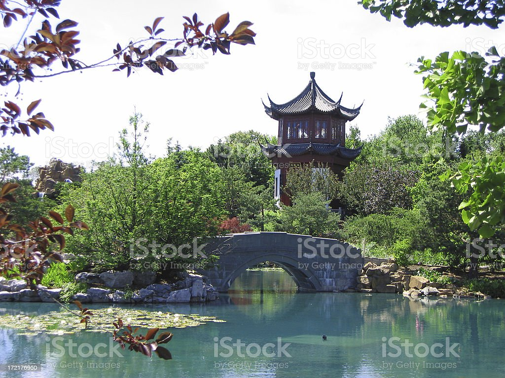 pagoda royalty-free stock photo
