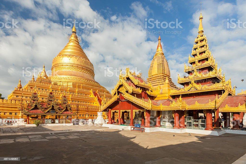 Pagoda shwedagon stock photo