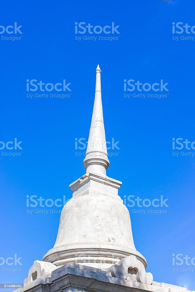 Pagoda stone stock photo
