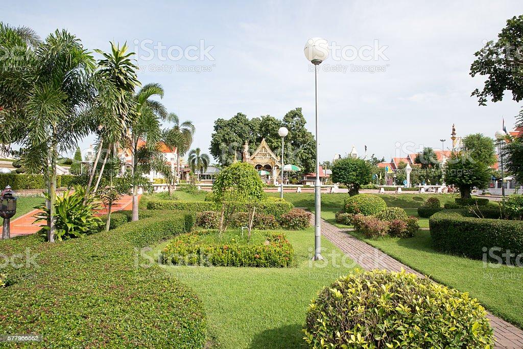 pagoda  Thailand  Udon thani stock photo