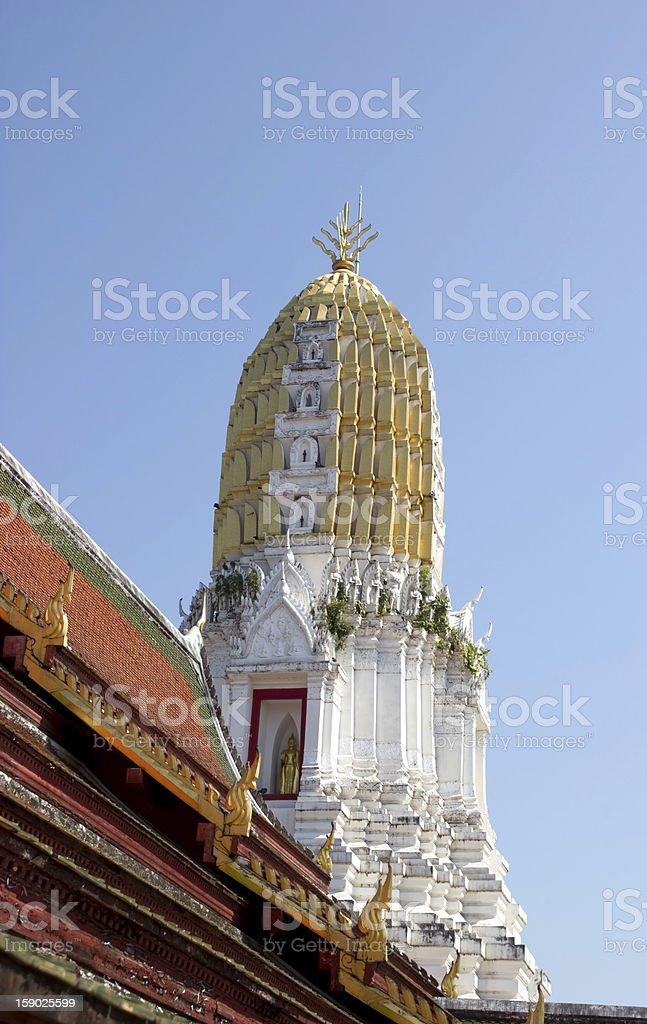 Pagoda, Wat Thai of northern Thailand. royalty-free stock photo