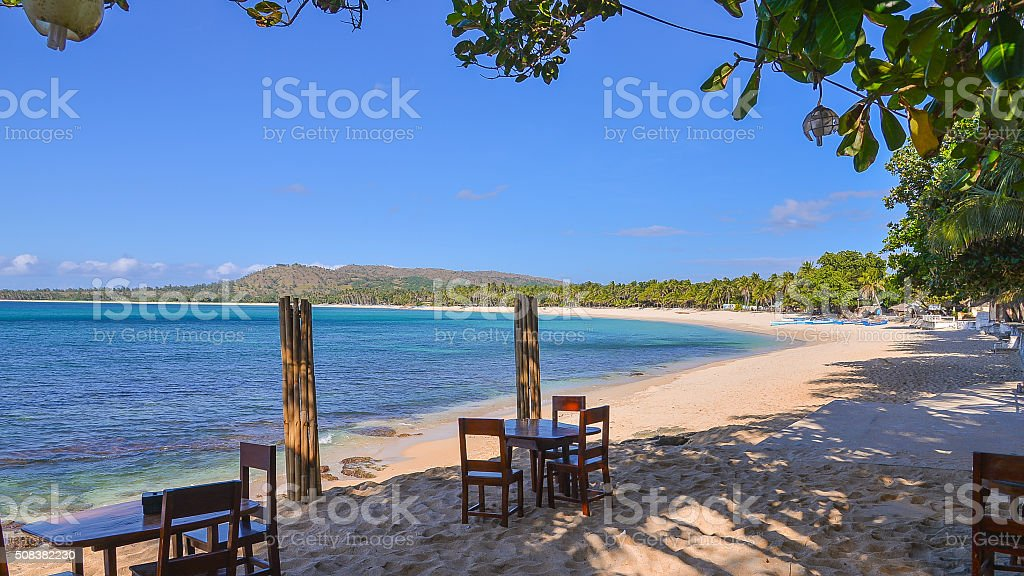 Pagudpud Beach, Ilocos Norte, Philippines stock photo
