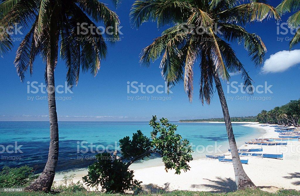 Pagudpud Beach stock photo