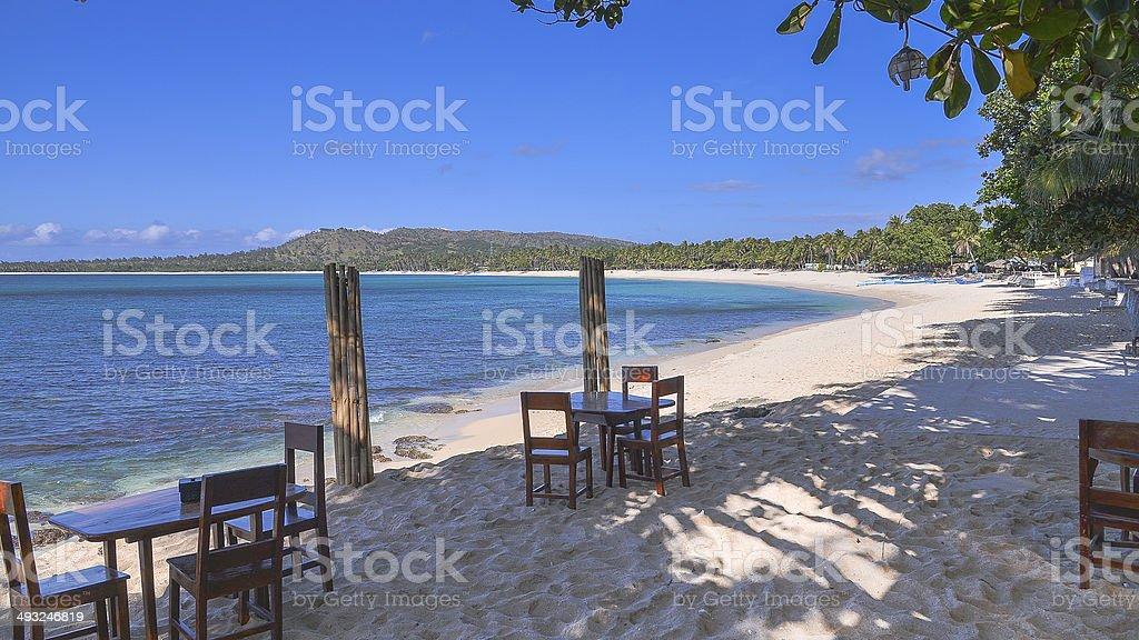 Pagudpud Beach Resort - Ilocos Norte, Philippines stock photo