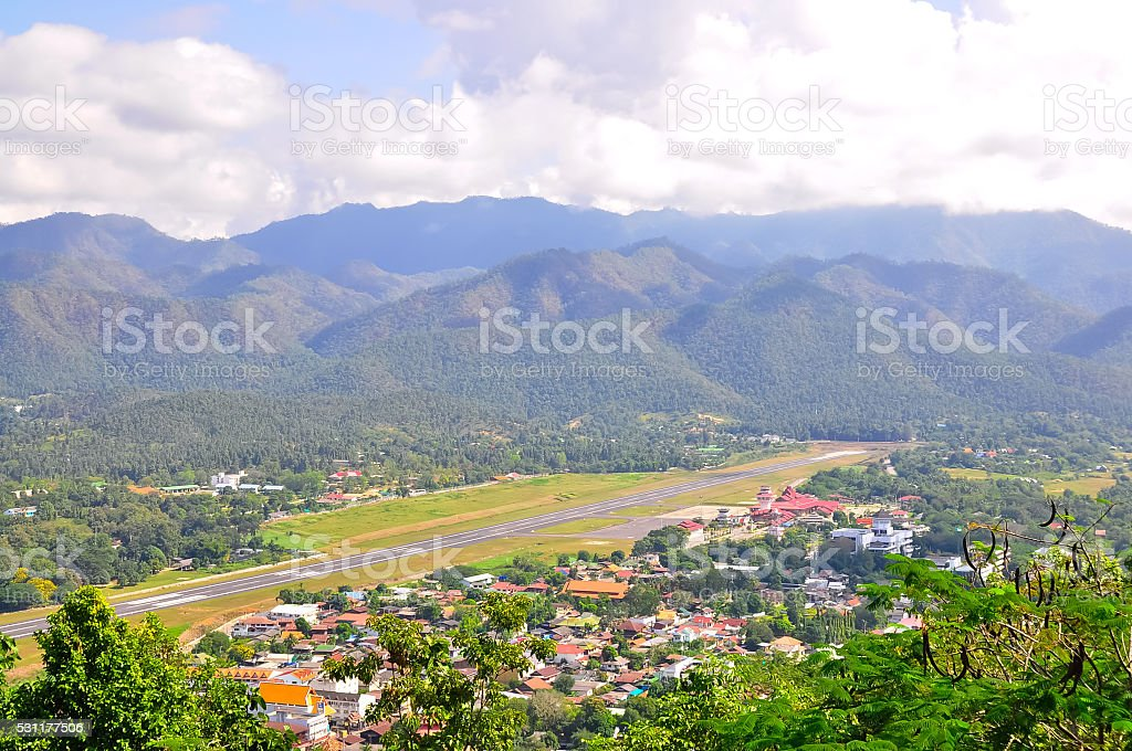 Pai , Maehongsorn Province the northern of Thailand stock photo