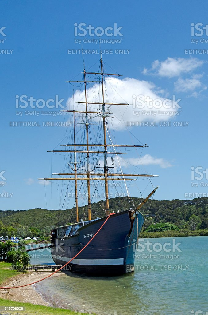 Paihia - New Zealand stock photo