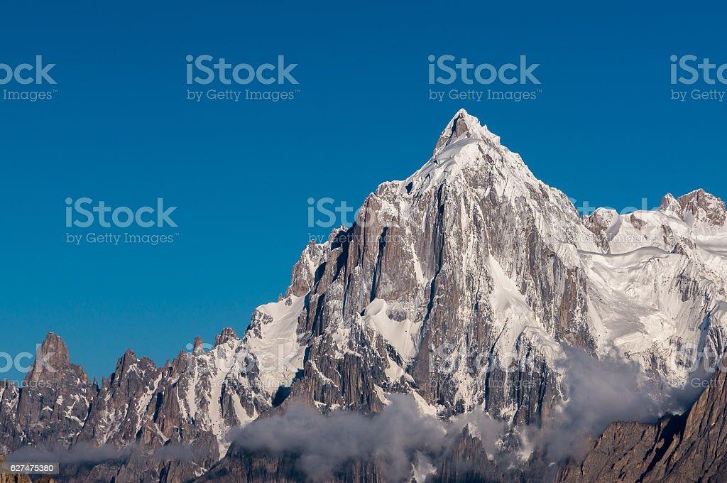 Paiju mountain peak, K2 trek, Pakistan stock photo
