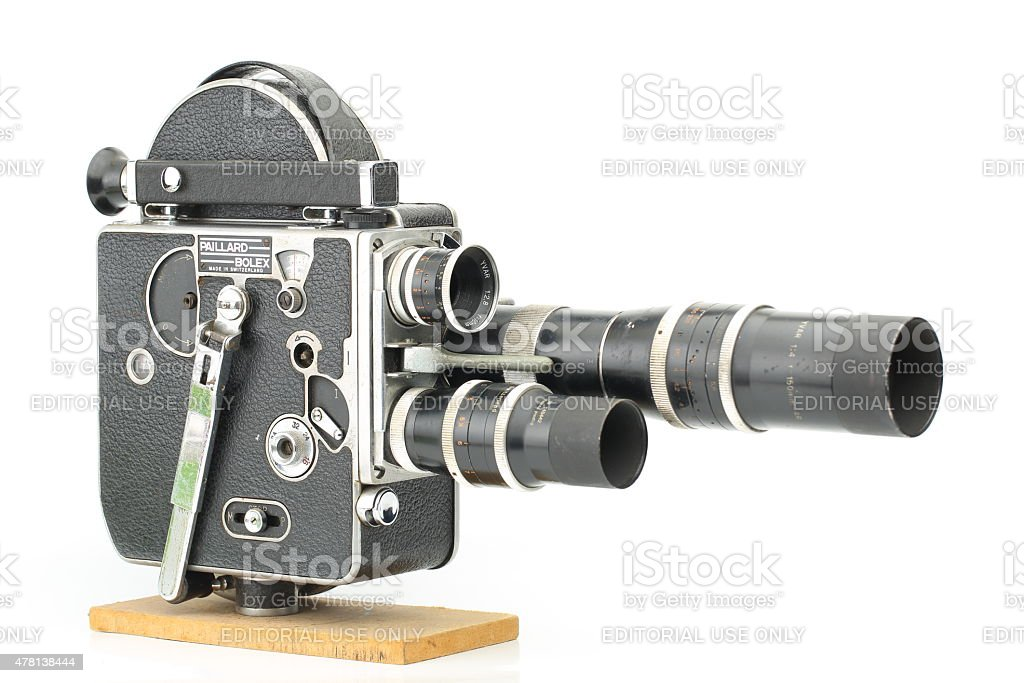 Paillard Bolex H-16 from Camera Collection stock photo