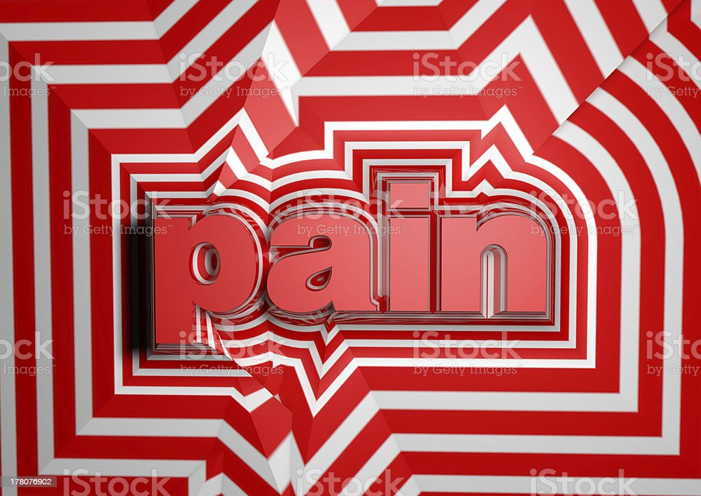 pain abstract background royalty-free stock photo