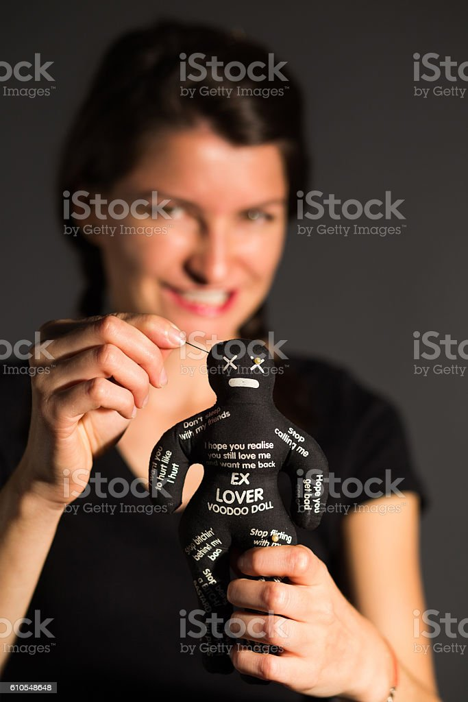 Pain after breakup stock photo
